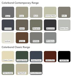 Colorbond roof colours #roofcolours