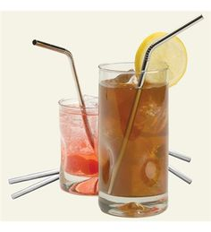 Stainless Steel Straw, set of 4