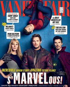 """Marvel Cinematic Universe Infinity War Vanity Magazine covers (@vanityfair) on Instagram: """"The sprawling Marvel franchise has resuscitated careers, has minted new stars, and increasingly…"""""""