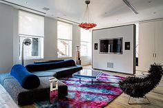 Small Space condo In New York City : Contemporary NYC Loft With Impeccable Design