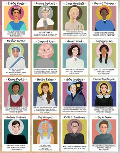 Manifestation Law Of Attraction Discover Mighty Women in History Poster Print / Wall Decor Art / Feminist Illustration Feminism / Frida Khalo European History, American History, History Medieval, British History, Ancient History, Modern History, History Posters, History Quotes, History Facts