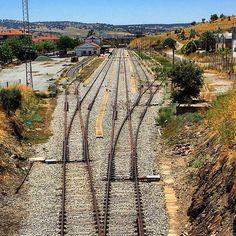 Estación de FFCC de #Plasencia. Sin trenes. #isntitapitty #ffccExtremadura