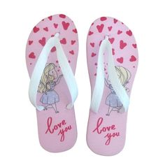 Chinelo de dedo Infantil I Love You > Conforto Store