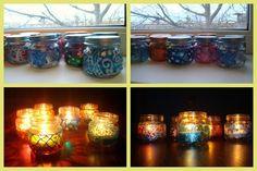 candlesticks from cans DIY(Ночные светлячки-огоньки мастер-класс)