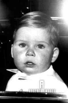 argentaimages:  David, Viscount Linley, as a baby.