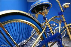 Swarovski-studded gilded bike 4 - Luxatic