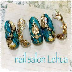 Japanese Nail Design, Japanese Nail Art, Nail Art Designs Videos, Nail Art Videos, Nail Designs, Pretty Nail Art, Beautiful Nail Art, Gel Nail Art, Nail Art Diy