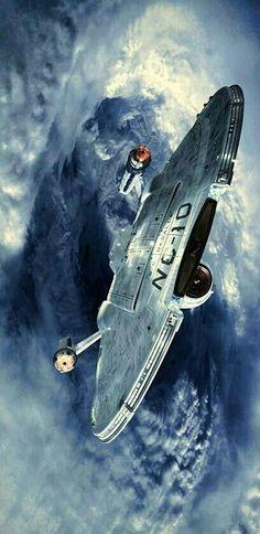 Nave Enterprise, Star Trek Enterprise, Science Fiction, Star Trek Characters, Sci Fi Ships, Star Wars, Star Trek Starships, Star Trek Original, Star Trek Universe