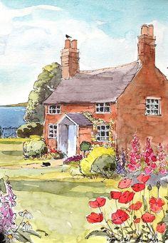 Resultado de imagem para annabel´s house illustrations