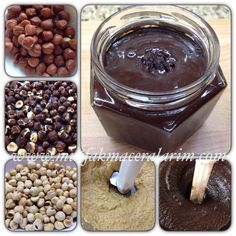 My Kitchen Adventures: Homemade Nutella (Cocoa Hazelnut Cream) – Recipes Nutella Cake, Pastry Cake, Cake Shop, Kakao, Bon Appetit, Kids Meals, Cocoa, Food And Drink, Cooking Recipes