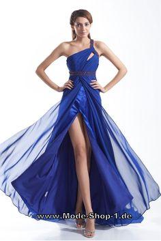 Abendkleid One Shoulder Anina Blau Neues Kleid, Wunderschöne Kleider,  Elegante Kleider, Blaues Abendkleid 80c19ef60b