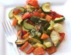 Healthy, Detox Friendly Menu Choice– Balsamic Roasted Vegetables