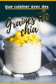 What's the easiest way to add the goodness of chia into your diet?  Chia Seeds are bursting with fatty acids w. Healthy Breakfast Recipes, Healthy Recipes, Cooking Recipes, Chia Puding, Easy To Digest Foods, Perfect Apple Pie, Fruity Drinks, Easy Casserole Recipes, Fruit Smoothies