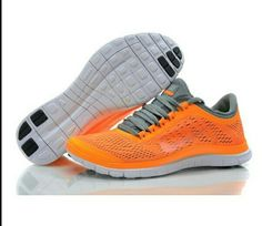 82c6db6cdc59 Nike Women s Free Running Shoes Total Orange Carbon Gray 552392 810  Lebron  X Denim