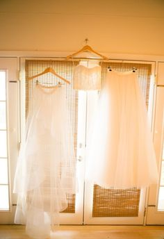 Look at this amazing three piece wedding dress! // Joanna Tano Photography @joannatano