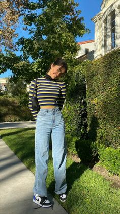 Adrette Outfits, Indie Outfits, Teen Fashion Outfits, Retro Outfits, Cute Casual Outfits, Stylish Outfits, Vintage Outfits, Outfits With Jordans, Cute Outfits For Girls