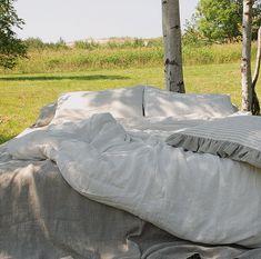 Linen bedding set off white, duvet cover and pillowcases from softened linen - linen Doona cover set - Double Queen King linen duvet set Linen Sheets, Linen Duvet, Bed Linen Sets, Duvet Sets, Bed Sheets, White Duvet Covers, Luxury Duvet Covers, Luxury Bedding, Wash Pillows