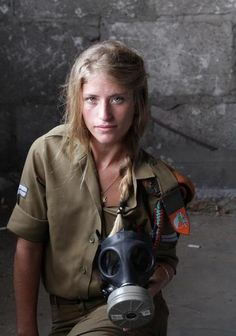 Young girl: Defender of Israel.