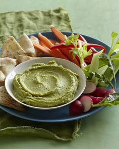 Imagine your favorite guacamole but turned into an Avocado Cilantro Hummus. It's the best of both worlds and it's perfect for a quick and easy snack or meal