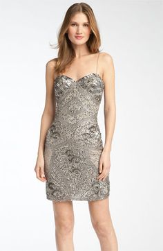 Aidan Mattox Beaded Slipdress available at Nordstrom