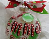 DIY ideas personalize your christmas ornaments!!!!!