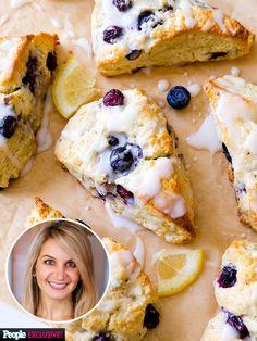 Sally's Baking Addiction: Blueberry Lemon Scones Make the Perfect Summer Treat http://greatideas.people.com/2015/06/12/blueberry-lemon-scones-sallys-baking-addiction/