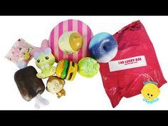 $40 Lucky Bag Squishy Grab Bag #2 squishyshop.com- Is it worth it - Cutie Creative Squishies - YouTube