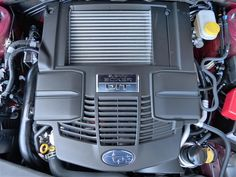 Engine of new 2015 Subaru Forester 2.0XT Touring