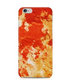 Amazing Yellow and Red Abstract Picture 3D Iphone Case for Iphone 3G/4/4g/4s/5/5s/6/6s/6s Plus - ARTXTR0225 - FavCases