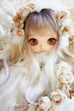 Pretty Dolls, Beautiful Dolls, Ooak Dolls, Blythe Dolls, Kawaii Games, Amazing Dp, Doll Tattoo, Kawaii Doll, Fairy Art