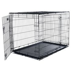 Double Door Foldable Pet Crate