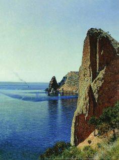 Мыс Фиолент вблизи Севастополя. 1897. Верещагин Василий Васильевич (1842-1904)