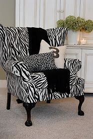 DYI reupholster a Goodwill chair.