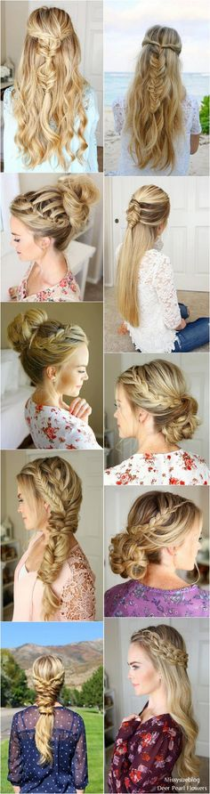 Long Wedding & Prom Hairstyles from Missysueblog ( http://missysue.com )  #wedding #weddingideas #fashion / http://www.deerpearlflowers.com/wedding-prom-hairstyles-for-long-hair/