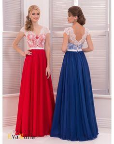 ee592b7d33c4 Dlhé spoločenské šaty s princeznovskou sukňou a bielym čipkovaným korzetom.