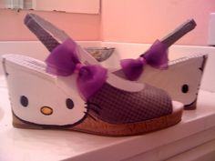 Wow hello kitty wedges