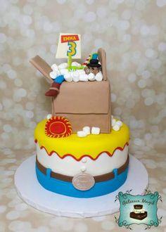 Photos ENFANTS | Gâteaux Magik toy's story cake, gateau histoire de jouet Birthday Cake, Photos, Desserts, Food, Disney Cakes, Toy, Children, Tailgate Desserts, Birthday Cakes