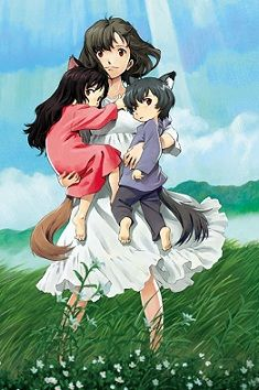 Ookami Kodomo No Ame To Yuki -This anime movie made me cry.