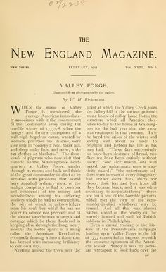 Valley Forge - New England Magazine