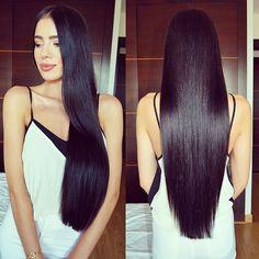«Freshly cut and dyed hair! feeling good ☺️ #hair #longhairdontcare #healthyhair #noextentions #realhair #happy #brownhair»