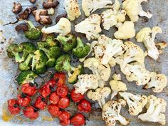 Risotto paahdetuilla kasviksilla on helppo ja nopea herkku - Himahella Risotto, Cauliflower, Vegetables, Food, Cauliflowers, Essen, Vegetable Recipes, Meals, Cucumber