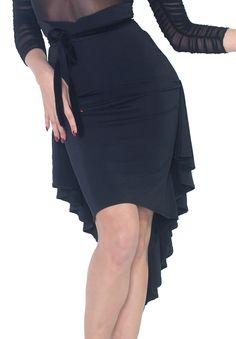 Espen Zamora Latin Skirt S2   Dancesport Fashion @ DanceShopper.com