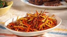 A salty-sweet dish of oven-roasted carrots and parsnips is a quick, healthy alternative to traditional French fries.