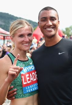 The World's Fittest Couple: American decathlete Ashton Eaton and his wife, Canadian heptathlete Brianne Thiesen-Eaton.