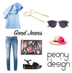 Peony Design by teri-peony on Polyvore featuring VIVETTA, Dolce&Gabbana, Robert Clergerie, Smoke x Mirrors and Eugenia Kim