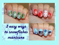 New Post cute christmas nails easy step by step