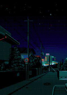 pixel scenery dump [[MORE]] hey hey! Retro Aesthetic, Aesthetic Anime, Pixel Gif, Arte 8 Bits, 8 Bit Art, New Retro Wave, Vaporwave Art, Art Background, Oeuvre D'art
