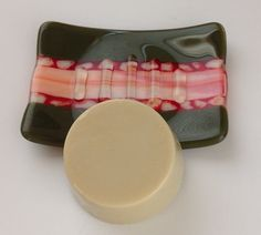 Fused Glass Soap Dish by MeltandFlowGlass on Etsy