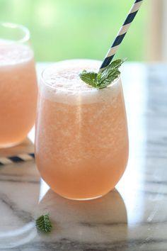 Blended Grapefruit Limeade