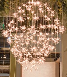 The Stella chandelier by italy design..for me this creates instant happiness